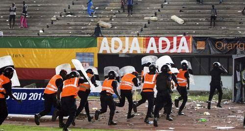 incidents stade leopold senghor,match Sénégal -Côte d'Ivoire