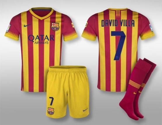 Maillot extérieur Barça 2013-2014