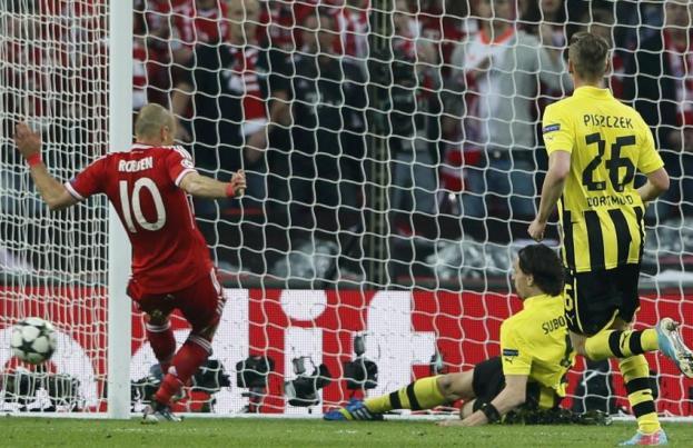 Robben en action