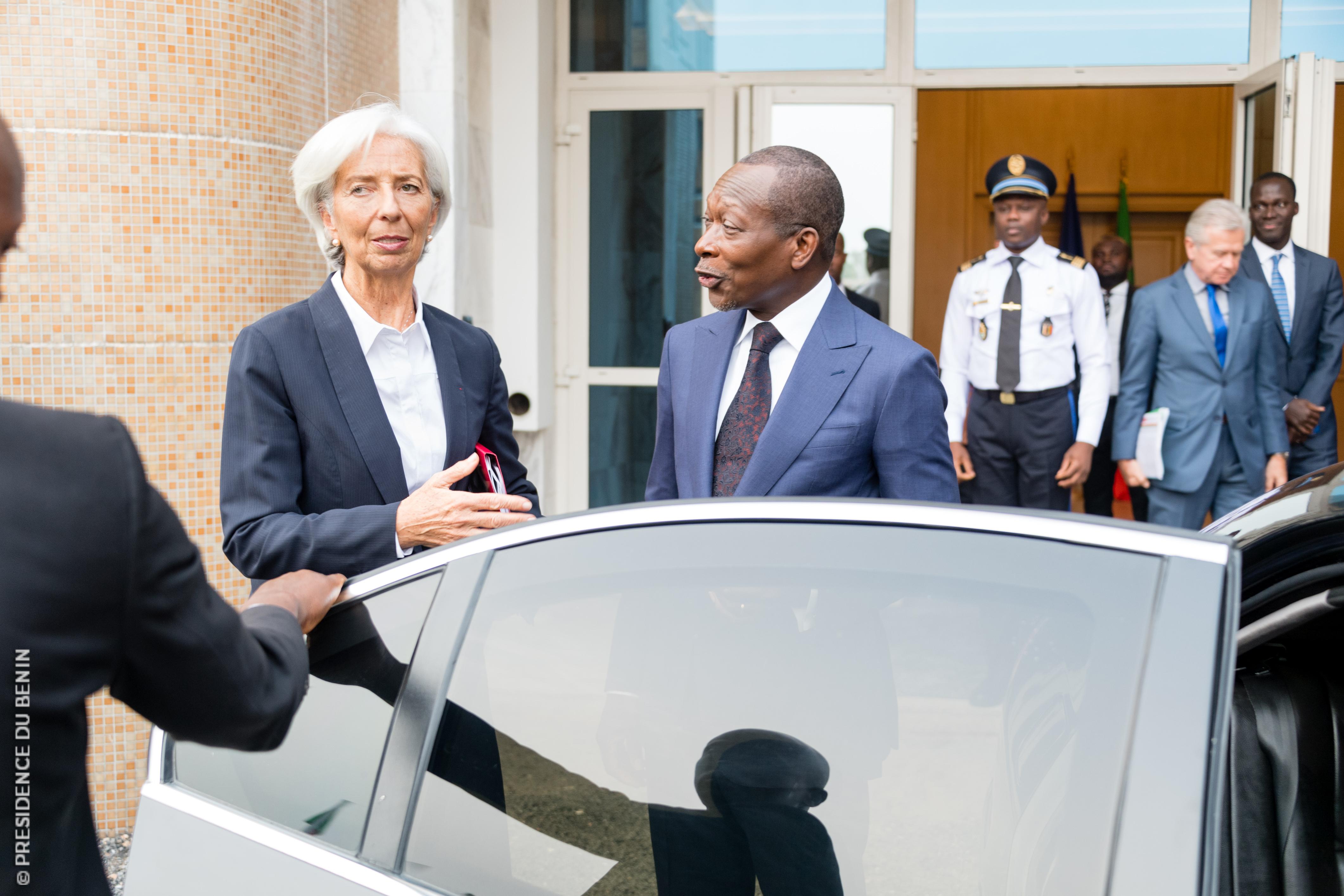 Le FMI choisi le Bénin pour son nouvel instrument de financement à la réalisation des ODD