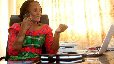 Barkatou Adamou Sabi Boun, la nouvelle DG de l'Economie numérique et de la Poste / Photo : Salem de Berry via Gnonnou