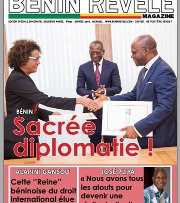Bénin Révélé Magazine N°002 – Edition spéciale Diplomatie – Janvier 2018