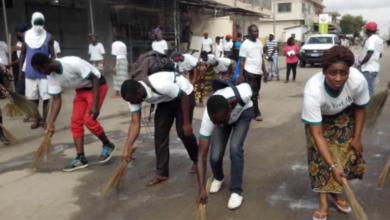 Photo of Pour promouvoir la santé au travail, Bernard Amoussou lance une campagne de salubrité