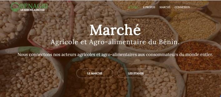 BenAgri, le portail web qui transpose le marché des produits agricoles béninois sur Internet