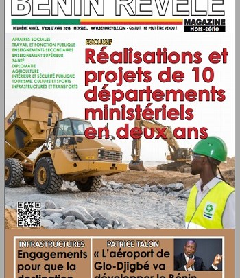 Bénin Révélé Magazine N°004 – Avril 2018