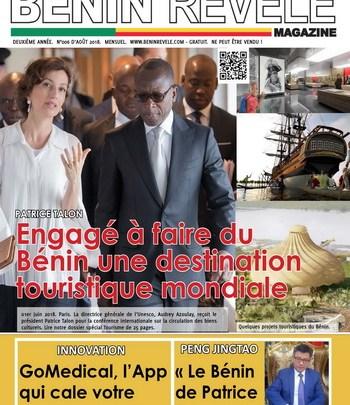 BÉNIN RÉVÉLÉ MAGAZINE N°006 – AOÛT 2018