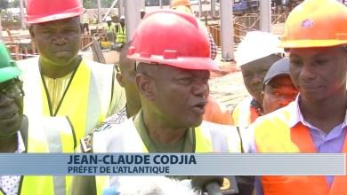 Photo of Jean-Claude Houssou constate avec satisfaction la bonne évolution des travaux de la centrale de Maria Gléta