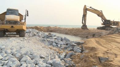 Photo of Les travaux de la construction des épis pour protéger les côtes Est de Cotonou, achevés