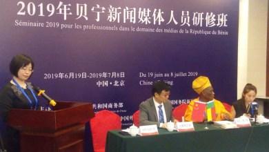 Photo of 20 journalistes béninois à Beijing pour promouvoir la coopération entre les médias chinois et béninois et pour mieux connaître la Chine