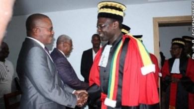 prestation de serment de Agoua et Kouwanou