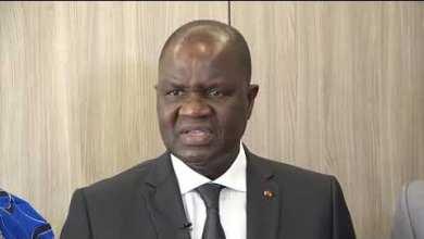 Photo of Au Palais de la Marina, Patrice TALON reçoit le Président de l'APF, M. Amadou SOUMAHORO