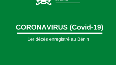 Photo of CORONAVIRUS- Premier décès enregistré au Bénin