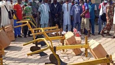 Photo of Lutte contre les effets néfastes des changements climatiques au Bénin : 07 communes reçoivent du matériel au profit des agriculteurs