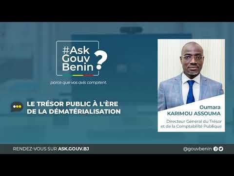 #askgouvbenin19-:-le-tresor-public-a-l'ere-de-la-dematerialisation