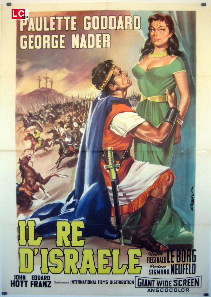 Risultati immagini per Il Re d'Israele 1953