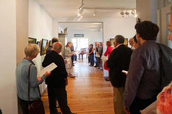 Eröffung der Ausstellung »Neues von Kerwin«, Kunst-Kontor, Potsdam