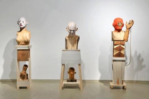 Arbeiten von Sebastian Pless; Galerie Irrgang, Leipzig, 2012; Foto: Galerie Irrgang
