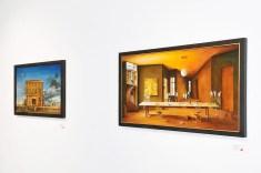 Arbeiten von Benjamin Kerwien; Galerie Irrgang, Leipzig, 2012; Foto: Galerie Irrgang