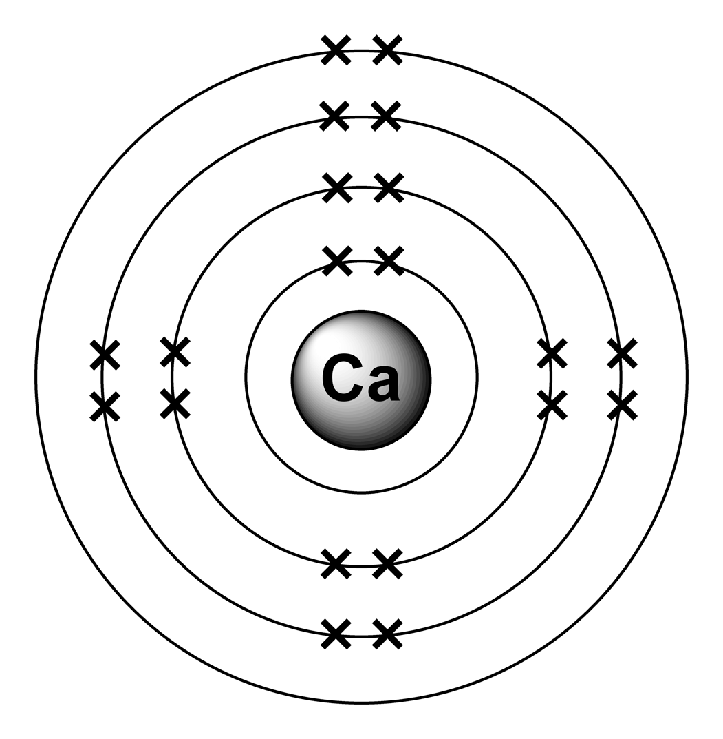 Give The Electron Configuration For The Calcium I