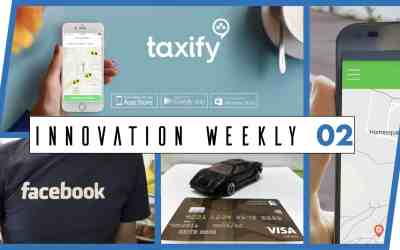 Innovation Weekly 02 – Amazon, Facebook et Uber