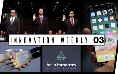 Innovation Weekly 03 – Apple, Hello tomorrow, Iphone X et augmentation