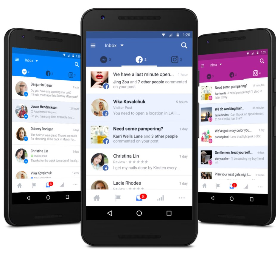 Pages Inbox by Facebook