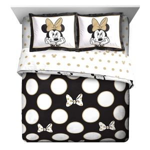 Disney Minnie Mouse Icon and Dots