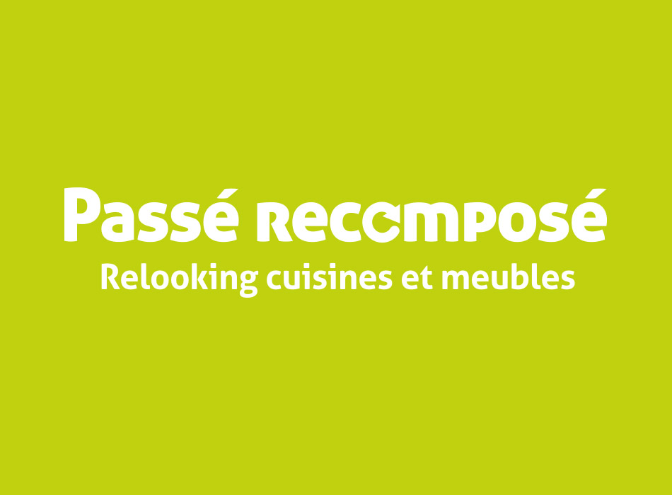 Logo Passé Recomposé | Benjamin PIEGAY, graphiste à Lyon et dans les Monts du Lyonnais