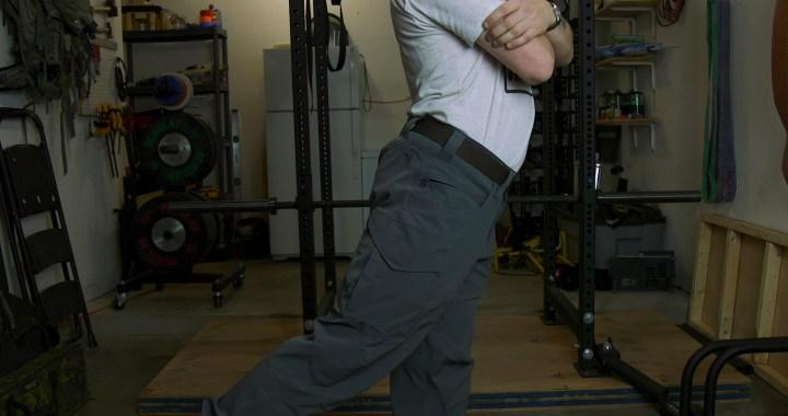 improper hip extension