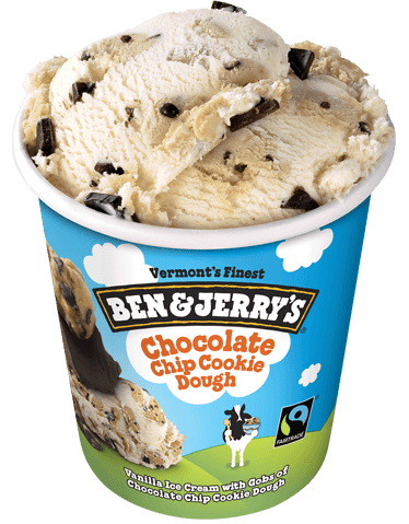 Image result for cookie dough ice cream