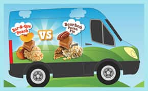 Ben & Jerry's has a truck touring in Texas
