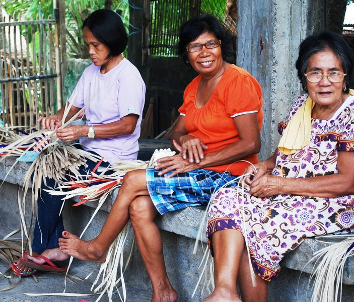 The buri weavers of BUHAI