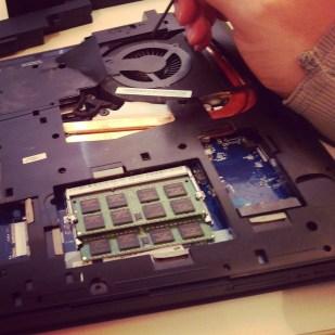 I'm forever repairing laptops!
