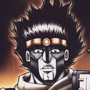 Manga Art- Star Platinum