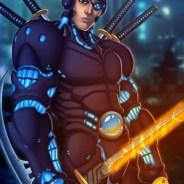 Cyberpunk Samurai Print