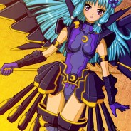 Cute Winged Anime Girl Print
