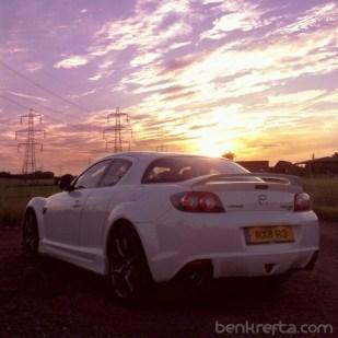 RX8 Mazda Sunset