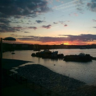 Overlooking River Medway