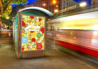 Citlylight Poster (Mock-Up) for Frucht:bar