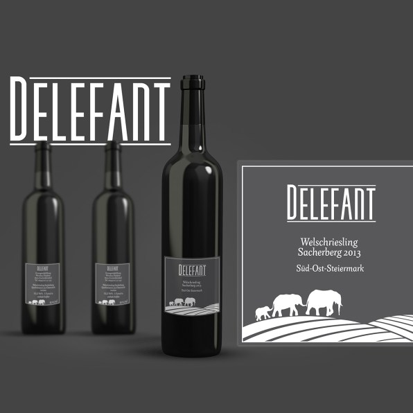 Wine Label Preliminary Rendering