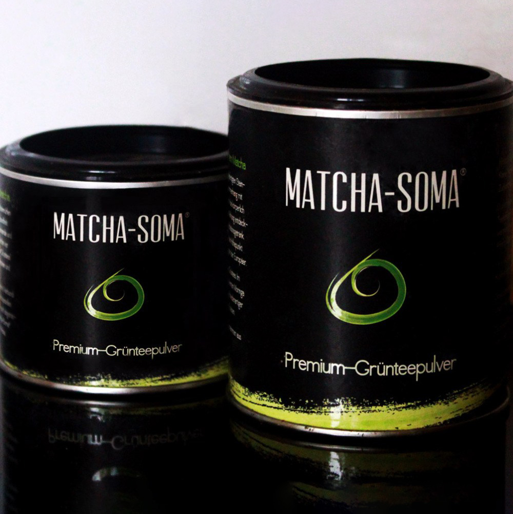 Matcha-Soma Packaging