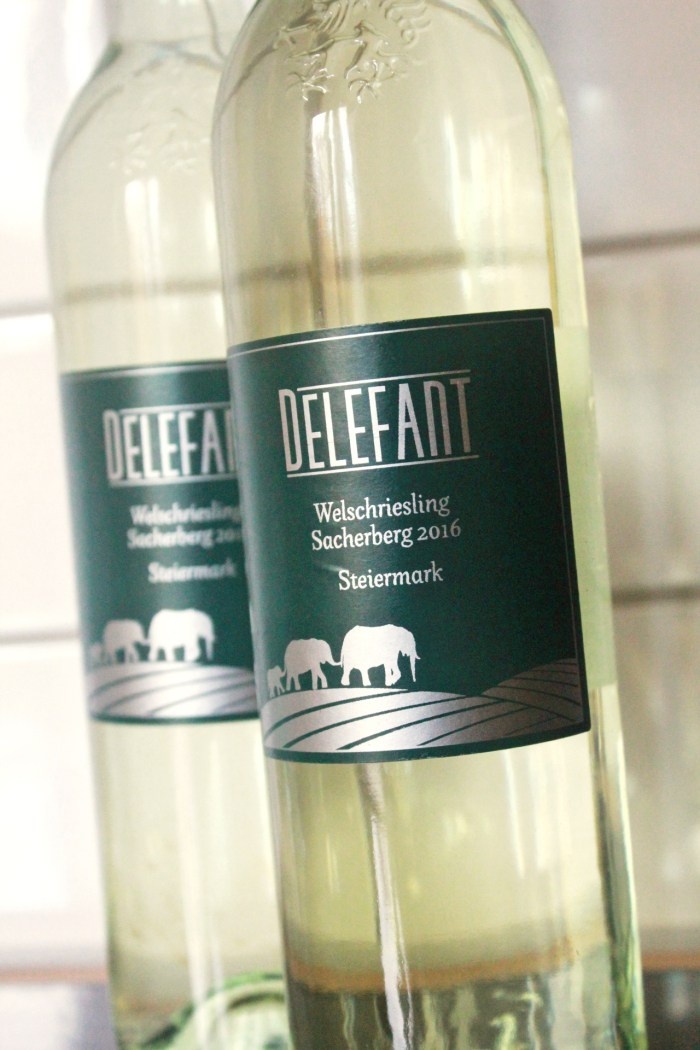 Delefant Wine Label