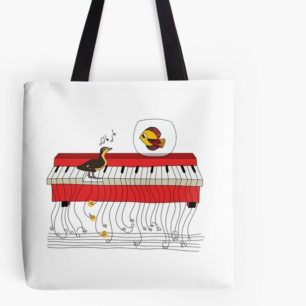 Jam Session Tote Bag (Shop)