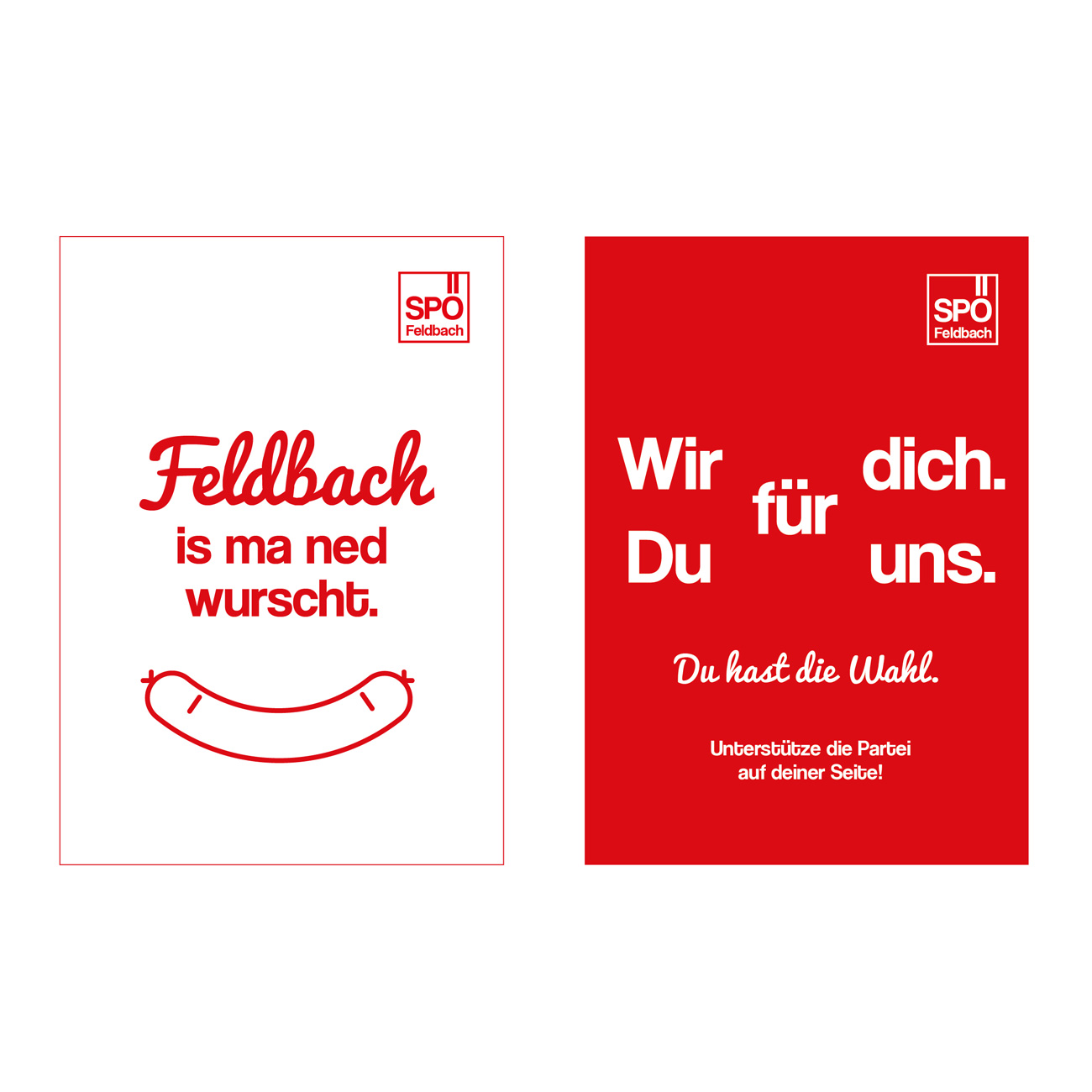 SPÖ Feldbach Poster