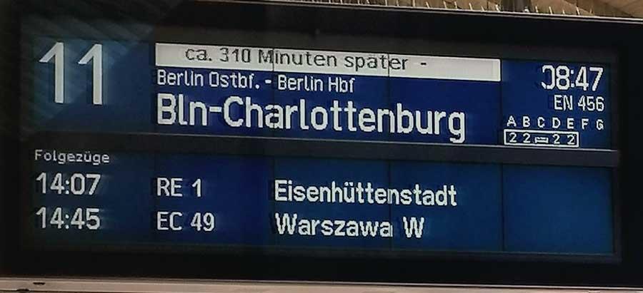 Entering Berlin