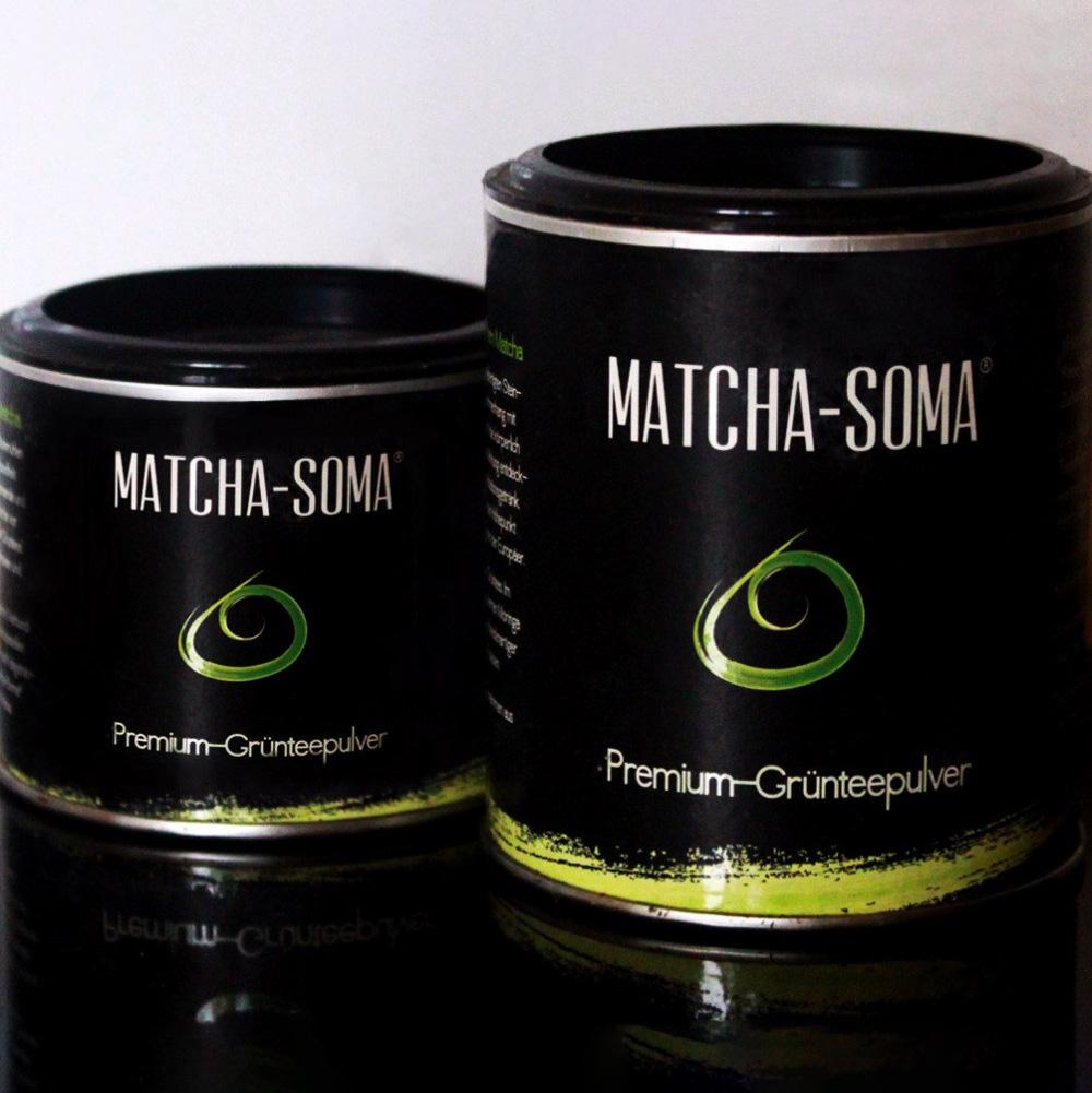 Matcha Soma Tee Verpackung