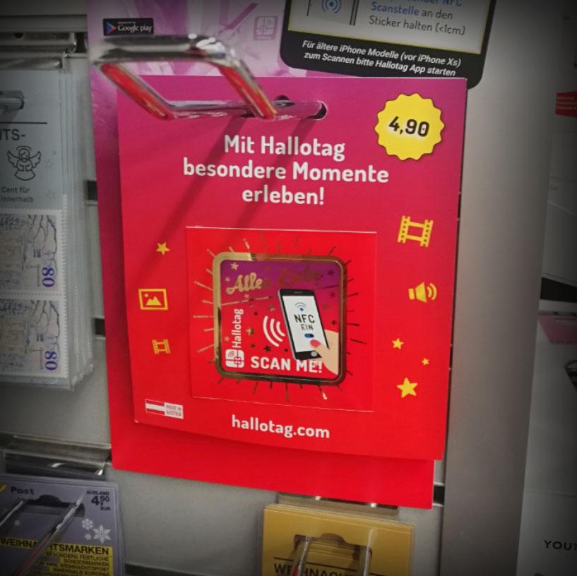 Hallotag NFC Sticker