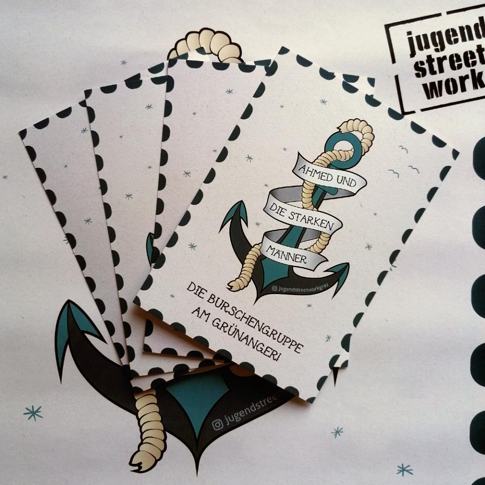 Jugendstreetwork Projektbranding