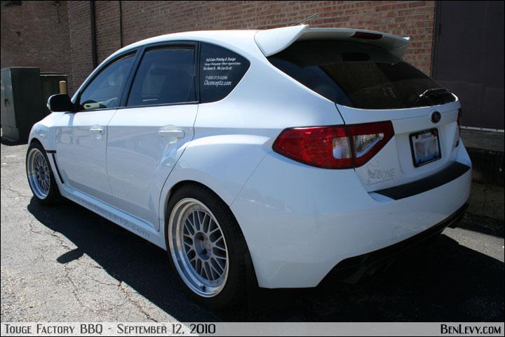White Wrx Sti Hatchback Benlevy Com