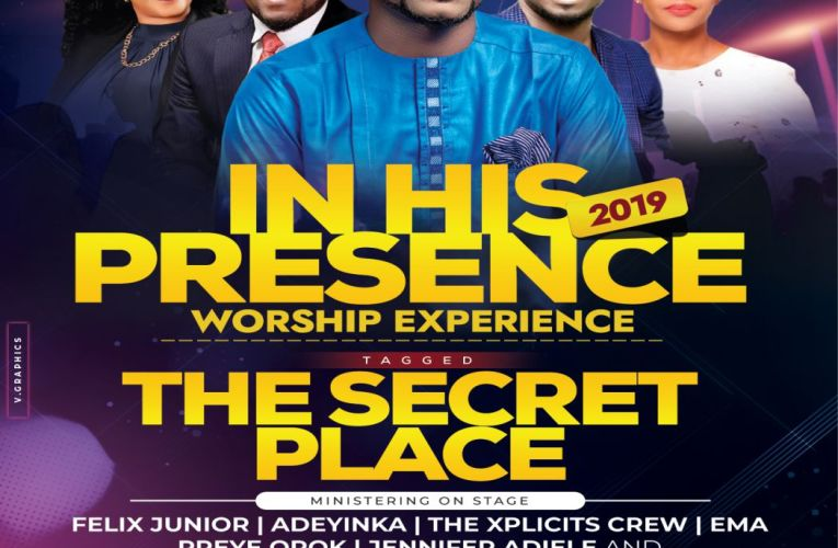 Felix Junior Unveil The Lineup For In His Presence Worship Experience 2019